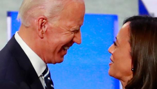 Auch Kamala Harris unterstützt nun Joe Biden