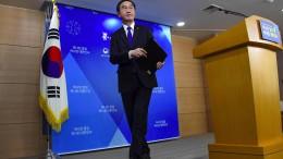 Südkorea will bald Gespräche mit dem Norden