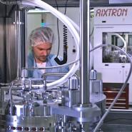 Das rheinländische Unternehmen Aixtron stellt Beschichtungsanlagen für Halbleiter her.
