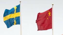 China beschwert sich über schwedische Polizei