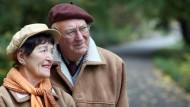 Ein Rentner-Ehepaar in Frankfurt an der Oder