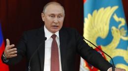 Putin prangert Trump-Gegner in Amerika an