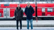 Das Team hinter der App: Michael Zierlein (links) und Sebastian Hennig