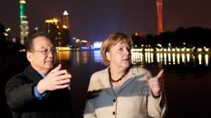 Merkel zufrieden mit China-Reise