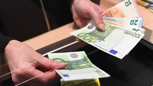 Krisenopfer Bankfiliale