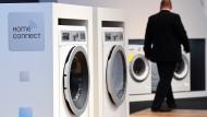 "Wlan-fähige Waschmaschinen der Marke ""Home Professional"" der Firma Bosch"