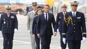 Frankreich kündigt Aufbau von militärischem Weltraumkommando an