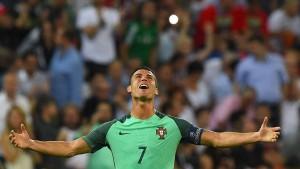 Ein goldener Ball für Cristiano Ronaldo