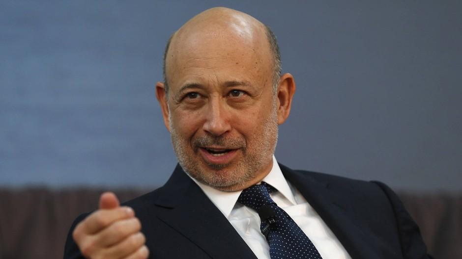 Lloyd Blankfein ist Chef von Goldman Sachs
