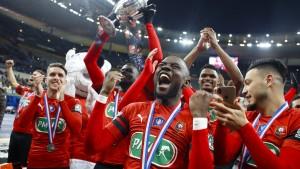 Rennes gewinnt französischen Pokal