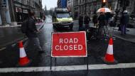 Bestürzung über Angriff im Londoner Regierungsviertel