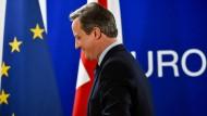 """Cameron zum Abschied aus der EU: """"Ich bedauere das Ergebnis, aber ich bedauere nicht, dass es das Referendum gegeben hat."""""""