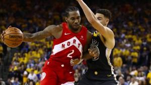 Toronto Raptors vor Titelgewinn gegen Golden State