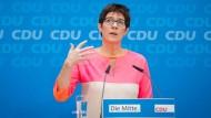 Annegret Kramp-Karrenbauer soll CDU-Generalsekretärin werden