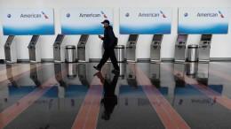 Amerikanische Fluglinien schicken tausende Mitarbeiter in Zwangsurlaub
