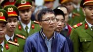 Der vietnamesische Geschäftsmann, Trinh Xuan Thanh während seiner Anhörung.