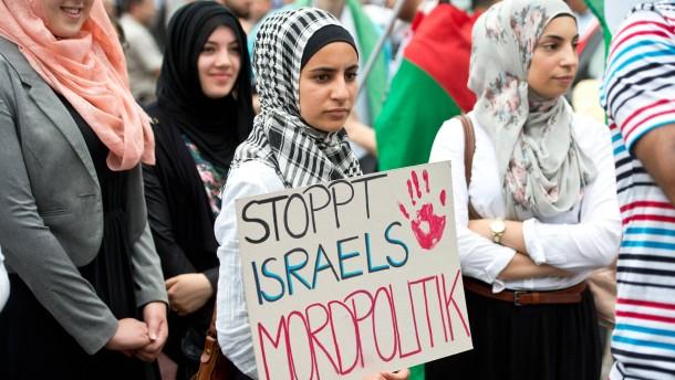 Zentralrat beklagt Judenhass bei Demonstrationen