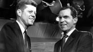 TV-Debatte Kennedy vs. Nixon im Jahr 1960