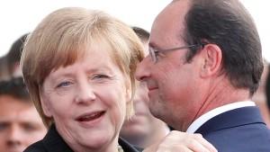 Ein selten perfekter Tag für François Hollande