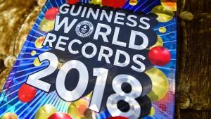 Das sind die neuen Rekorde im Guinnessbuch