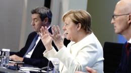 Merkel: Shutdown unbedingt verhindern