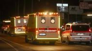 Mehrere Verletzte nach Axt-Angriff im Zug