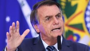 "Bolsonaro spekuliert über Corona-""Krieg"""