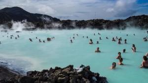Vulkan an der Blauen Lagune droht auszubrechen