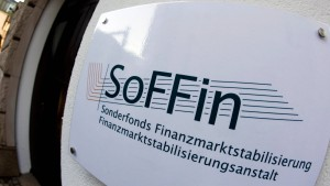 Soffin macht erstmals Gewinn