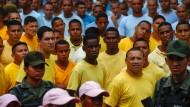Venezolanische Häftlinge sollen gegen Opposition demonstrieren