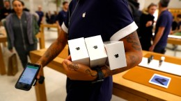 Apple-Aktie fällt um 7 Prozent