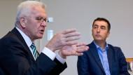 """Kretschmann und Özdemir bezeichnen Vorgehen in der Türkei als """"zivilen Putsch"""""""