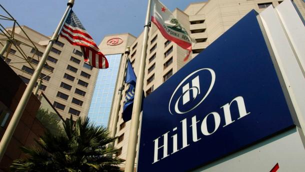 Hotelkette Hilton nimmt 2,3 Milliarden Dollar ein