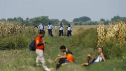 """Kroatien schiebt Migranten offenbar illegal über """"grüne"""" Grenze ab"""