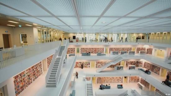 Werfen Sie einen Blick in die Bibliotheken der Zukunft