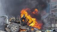 Terrorangriff auf Hotel in Mogadischu