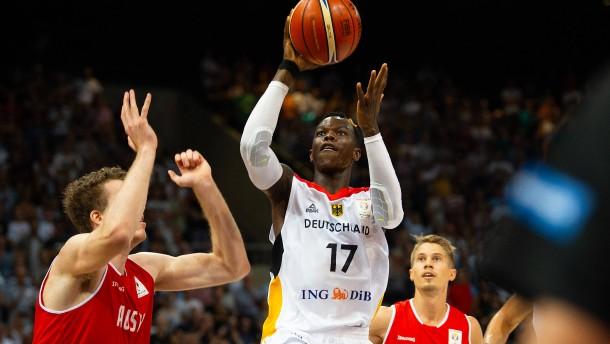 Deutsche Basketballer siegen in WM-Quali