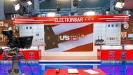 Amerikanische Wahlnacht im ZDF-Studio