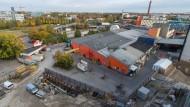 """Gelände """"mit Potential"""": Die Kultfabrik am Ostbahnhof, einer der möglichen Standorte des neuen Konzertsaals"""