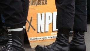 Zuversicht in der Politik für NPD-Verbot wächst