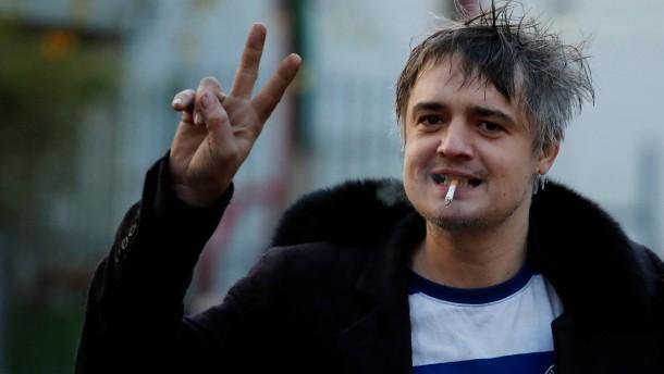Sänger Pete Doherty abermals festgenommen