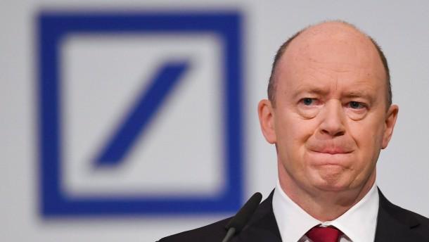 Die Deutsche Bank prüft ihr Investmentbanking