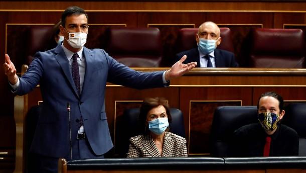 Spanien hat die Kontrolle verloren