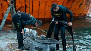 Spanier finden Kokain in U-Boot