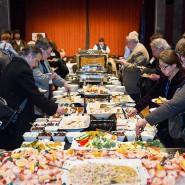 All you can eat für jedermann - und jede Frau: Empfang der Präsidentin beim Jahreskongress der American Historical Association 2015 in New York