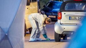 Mann in Stuttgart mit Schwert getötet
