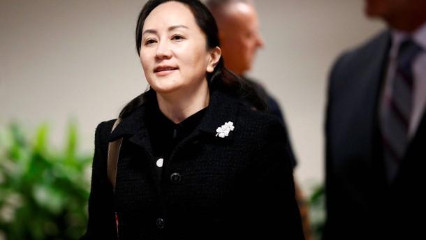 Verhandlung über Auslieferung von Huawei-Managerin
