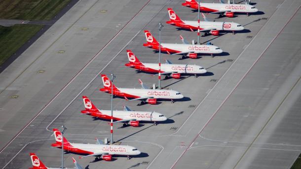 Air Berlin zahlt schleppend Tickets zurück