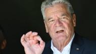 """Joachim Gauck: """"Das Land ist nicht in einem Zustand wie ein sinkendes Schiff"""""""