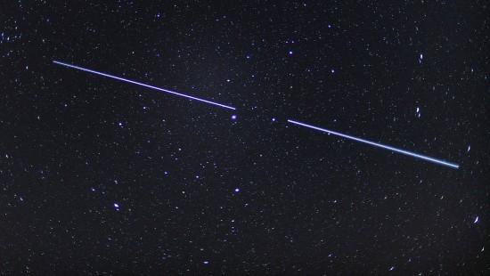 Starlink-Satelliten verdecken Sternenhimmel